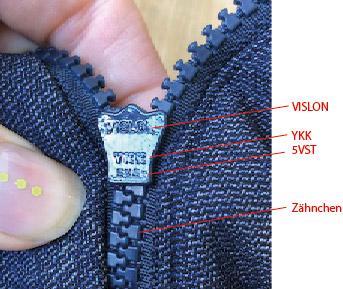 Elkline Babyeinsatz Zipper YKK
